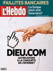Couverture de l'Hebdo