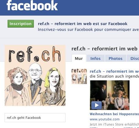 ref.ch sur Facebook